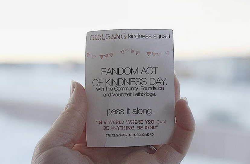 Random Act of Kindness Day 2017
